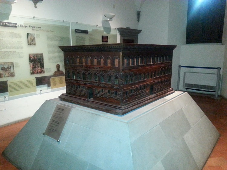 Permanent exhibition about the history of Palazzo Strozzi