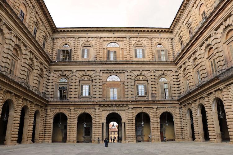 Palazzo Pitti: Courtyard