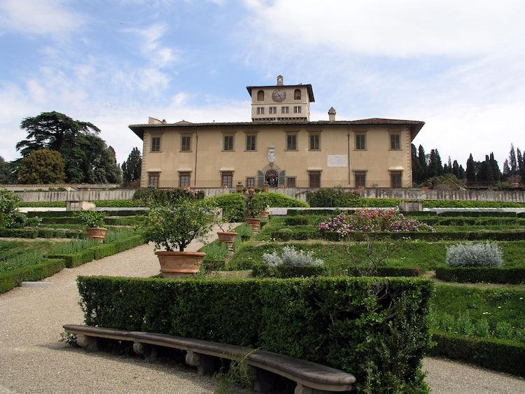 Villa medicea della Petraia: Florence, Italy