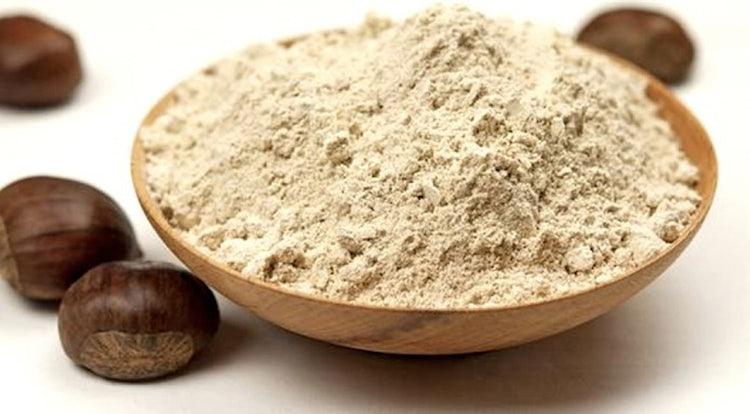 Extra virigin olive oil and chestnut flour