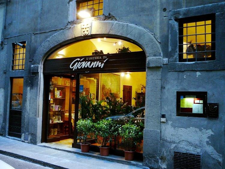 Osteria di Giovanni for a good bistecca Fiorentina in Florence Tuscany