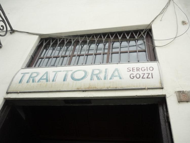 Trattoria Sergio Gozzi bistecca fiorentina, delicious food in Florence Tuscany