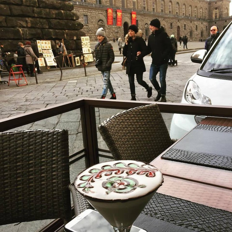 JT Cafe in Pront of Palazzo Pitti