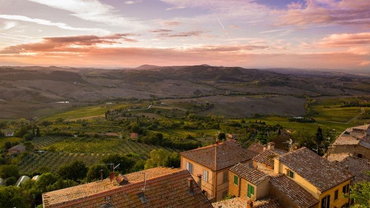 Paesaggi da sogno per una vacanza romantica in Toscana