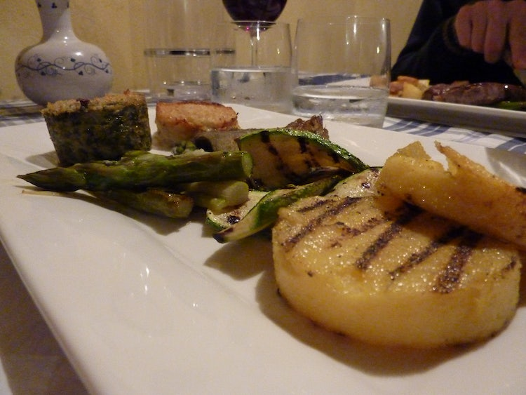 Delicious meals at Locanda nel Cassero