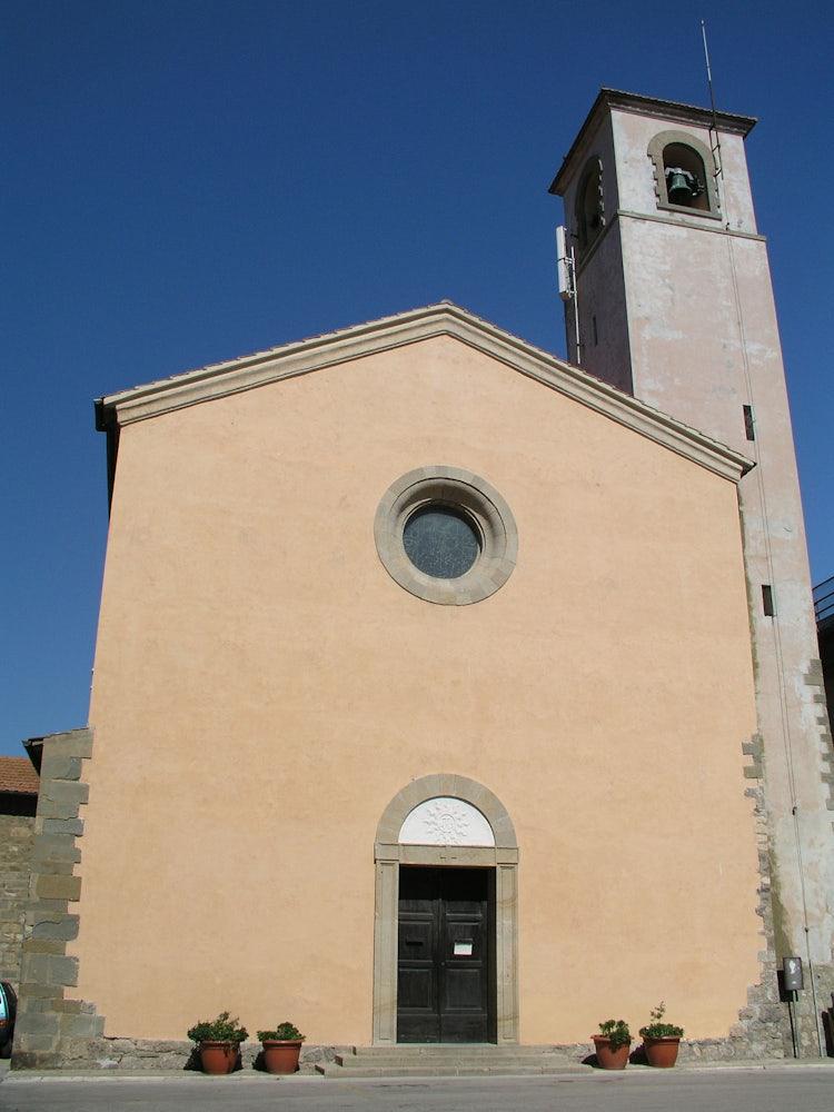 Church a Talamone in the Maremma, Tuscany