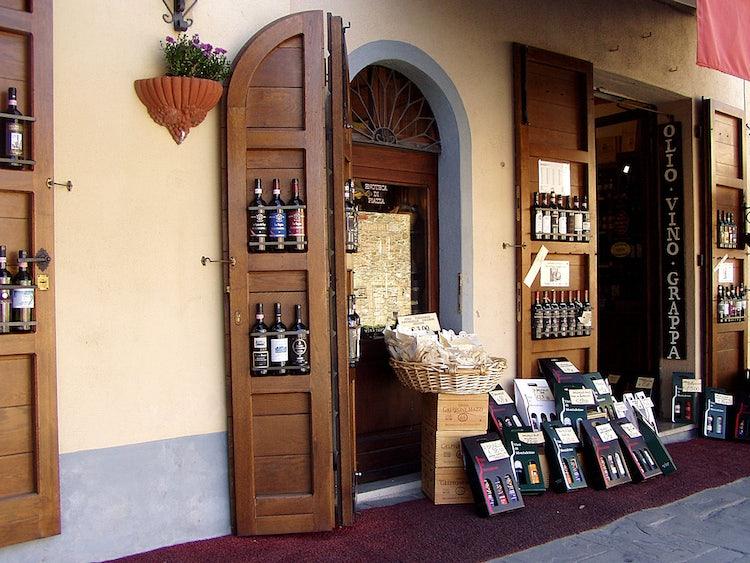 Enoteca a Siena