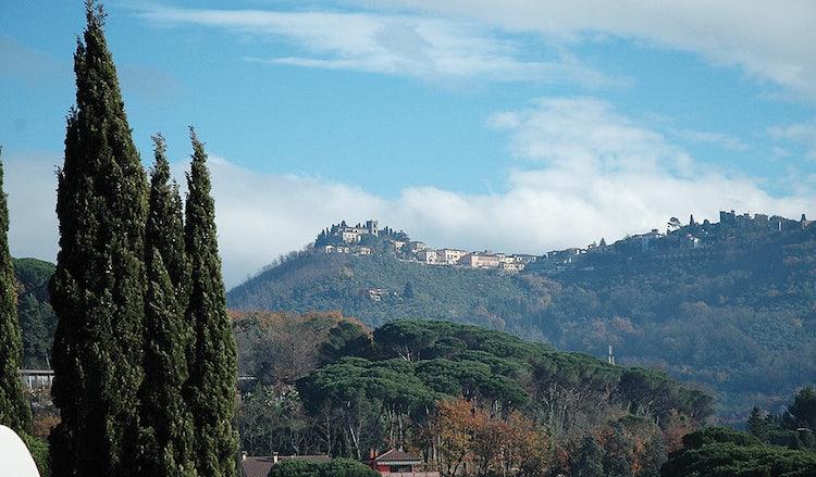 Skyline of Montecatini Alto