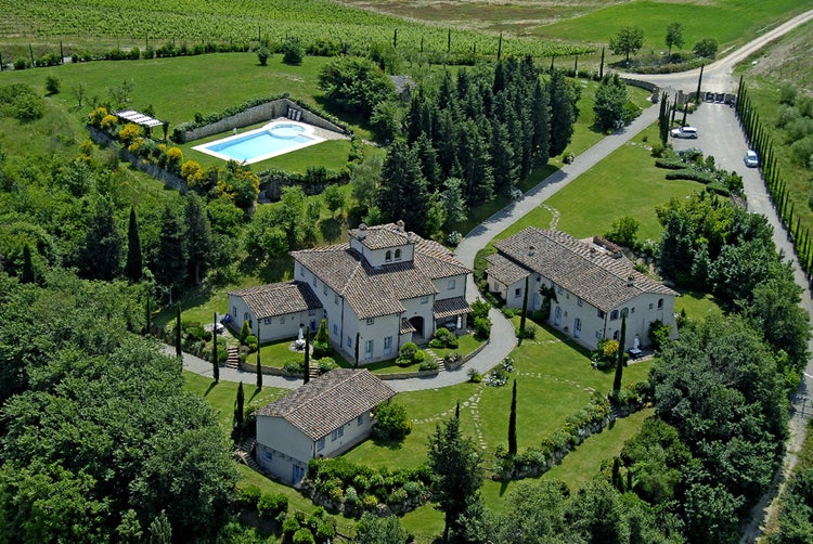 Borgo della Meliana: Panoramic view from above