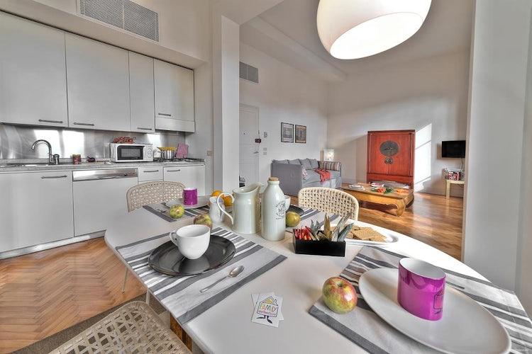 Kitchen area for Family Signoria Apartments