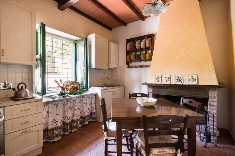 Fattoria I Ricci self catering holiday apartments close to Florence