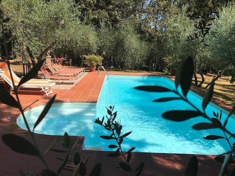 Living area at Il Melograno