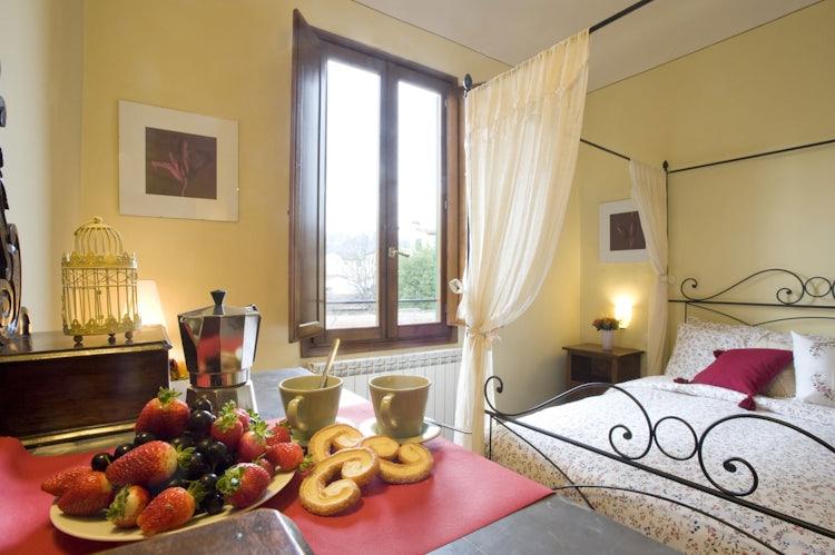 Interiors at Oltrarno Apartment