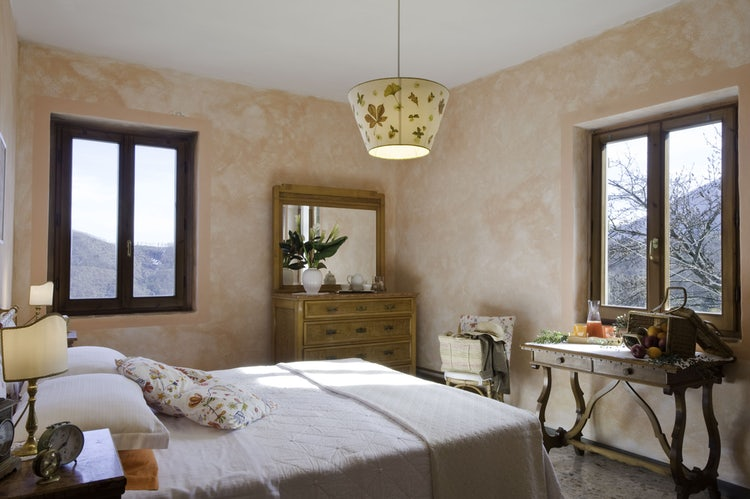 Double bedroom at B&B Porcigliano