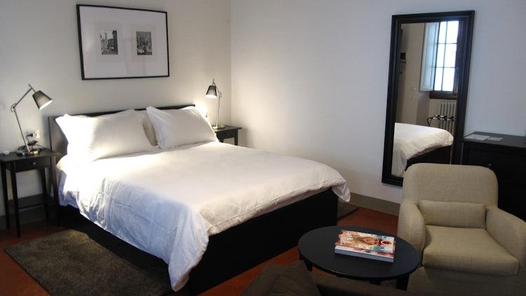 Deluxe bedroom at Residenza d'Epoca Toscanelli