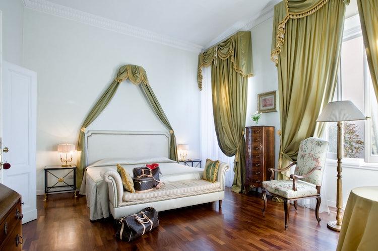 Deluxe bedroom at Villat Antea
