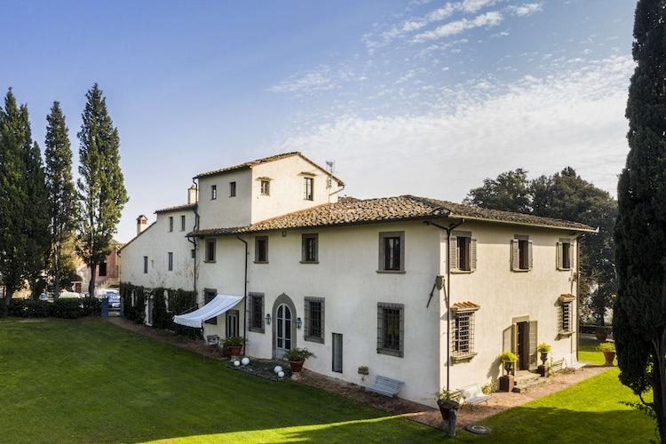 View of B&B Villa Dianella near Florence, Italy