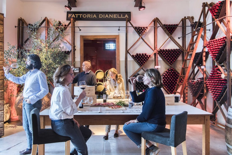 Gift shopp at B&B Villa Dianella near Florence Italy