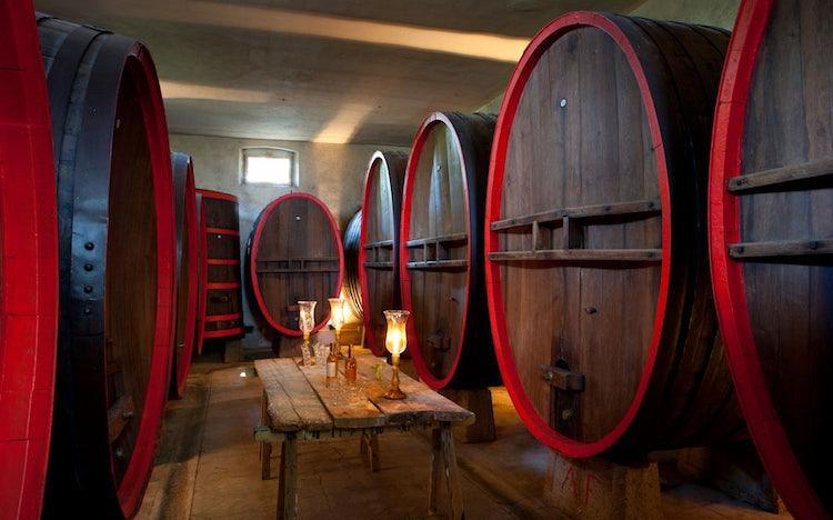 Villa Dianella wine tasting in Chianti