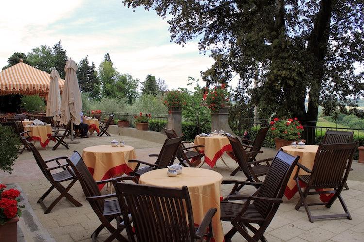 Breakfast at Villa il Poggiale