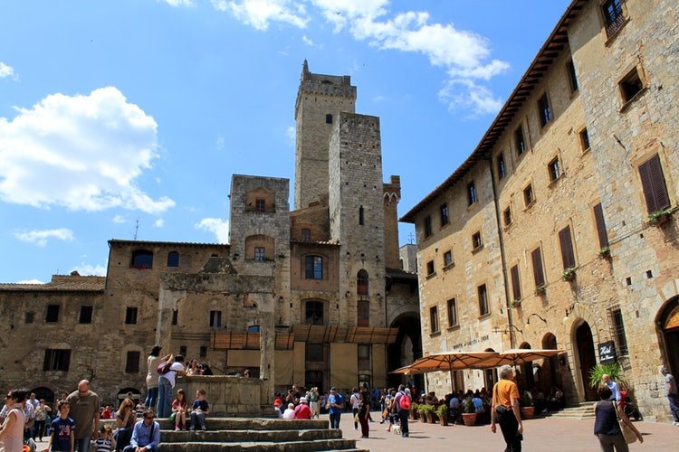 The towers in San Gimignano