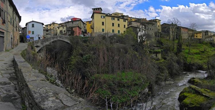 Loro Ciuffenna, a medieval town