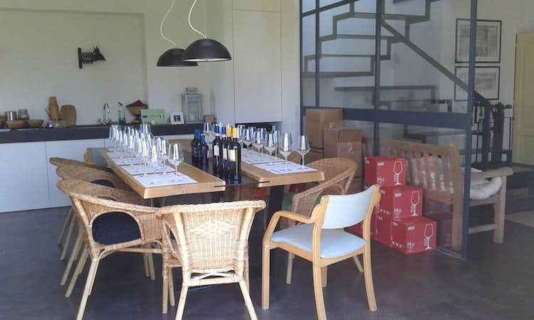 Book a visit to La Salceta and taste their organic wines near Loro Ciuffenna