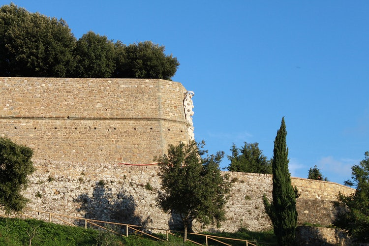 City walls of Montalcino