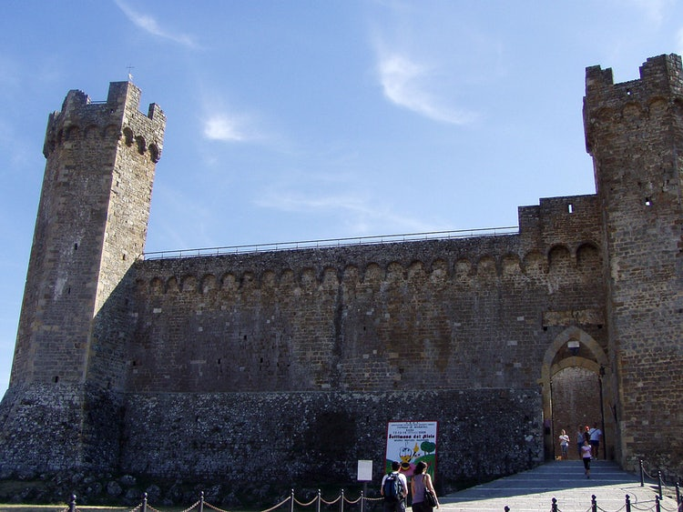 The Rocca of Montalcino