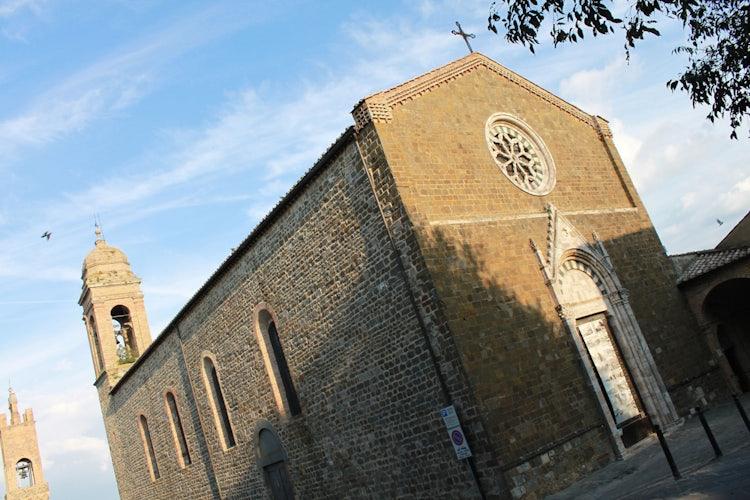 Church of Sant Agostino in Montalcino