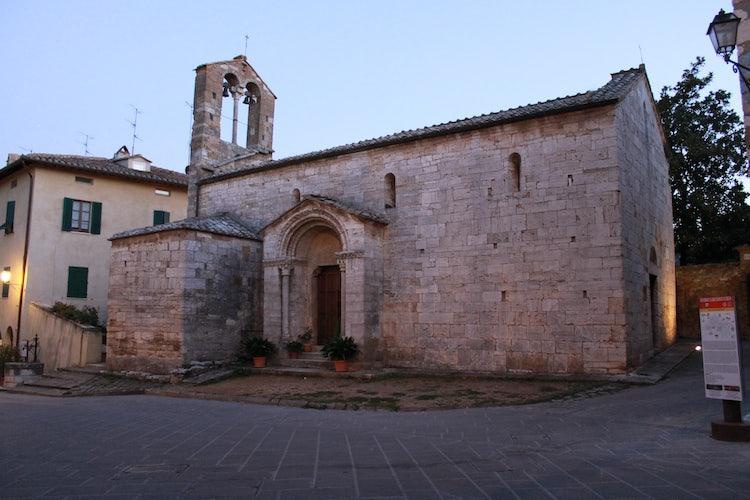 Church of Santa Maria Assunta San Quirico