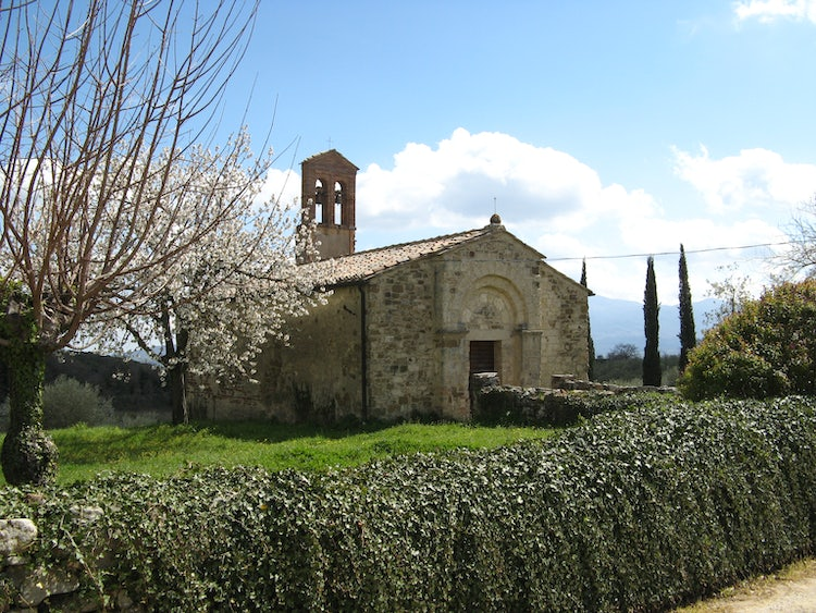 Sant Antimo, an area for the Orcia DOC wines in Tuscany