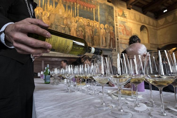 An event not to miss, the anteprima di Vernaccia di San Gimignano
